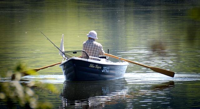 Horgászat csónakból